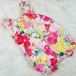 Ralph Lauren floral romper
